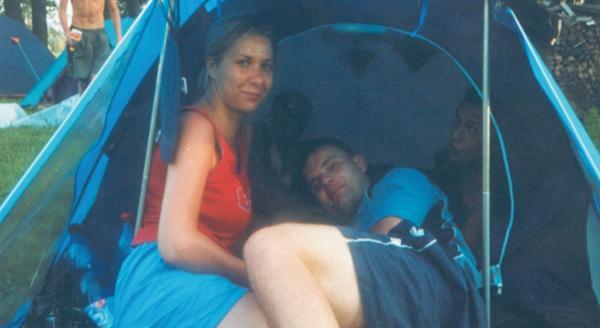 odpoczynek w namiocie